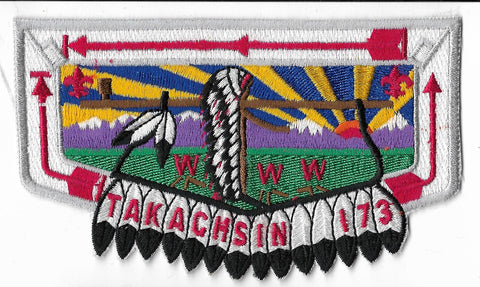 OA Lodge #173 Takachsin S-13b flap