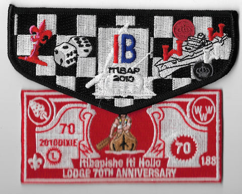 OA Lodge #188 Iti Bapishe Iti Hollo 2010 70th anniversary set