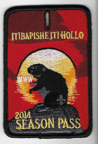 OA Lodge #188 Iti Bapishe Iti Hollo 2014 Season Pass [OAP1309]