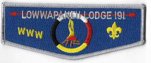 OA Lodge #191 Lowwapaneu S-13 flap