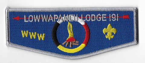 OA Lodge #191 Lowwapaneu S-22 flap [OAP1327]