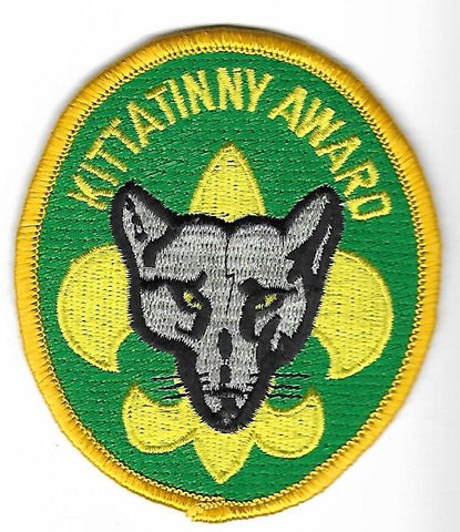 OA Lodge # 5 Kittatinny Hawk Mountain   x-24; 2007 Kittatinny Award; YEL border, GRN bkgd [OAP156]
