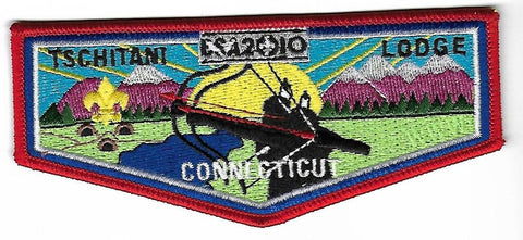 OA Lodge # 10 Tschitani Connecticut Rivers  S-50 Flap; 2010; 100th Anniversary [OAP183]