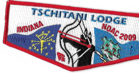 OA Lodge # 10 Tschitani Connecticut Rivers  S-49 Flap; 2009 NOAC [OAP199]