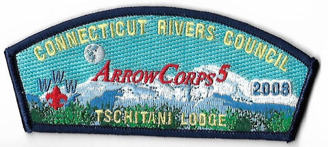 OA Lodge # 10 Tschitani Connecticut Rivers  x-7; 2008 Arrow Corps CSB [OAP202]