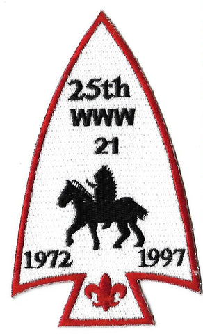 OA Lodge # 21 Wulakamike Crossroads of America  A-1; 1972-1987; 25th Anniversary [OAP250]