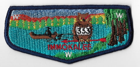 OA Lodge #353 Immokalee Chehaw Council S2B flap