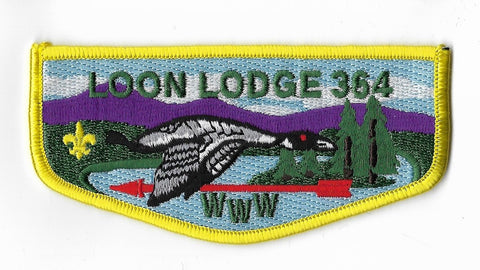 OA Lodge #364 Loon Adirondack Council S6 flap