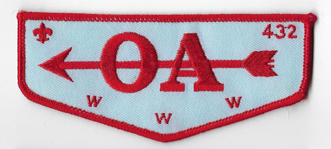 OA Lodge #432 Wipala Wiki Grand Canyon Council F3b flap