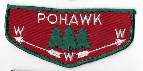 OA Lodge #445 Pohawk Covered Wagon Council F2 flap