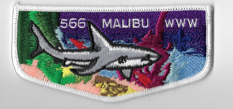 OA Lodge #566 Malibu Western Los Angeles County  S9 flap [OAP3385]