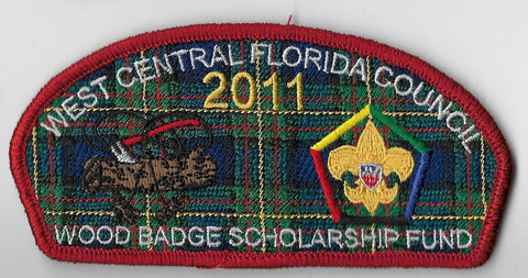 West Central Flordia  SA-23; 2011 Wood Badge [OAP3587]