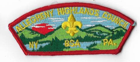 Allegheny Highlands Council S-2