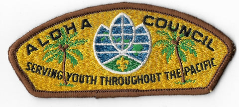 Aloha Council S1; first issue