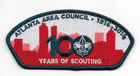 Atlanta Area Council 1916-2016; 100 Years of Scouting