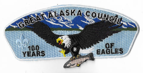 Great Alaska Council SA-23; 100 Years of Eagle