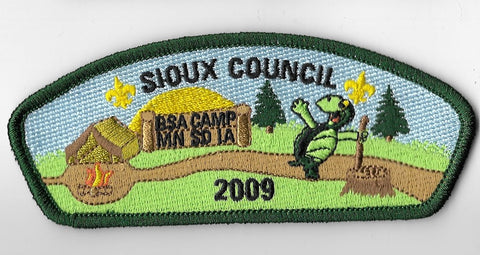 Sioux Council SA-35; 2009 Campership
