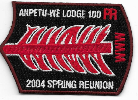 OA Lodge # 100 Anpetu-We Southeast Missouri  2004 Spring Reunion [OAP652]