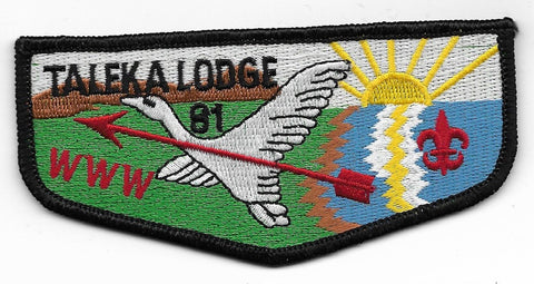 OA Lodge # 81 Taleka Okaw Valley  S-12 flap [OAP707]
