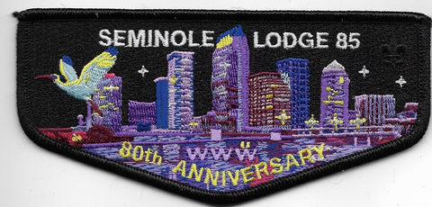 OA Lodge # 85 Seminole Gulf Ridge  2016 80th Anniversary; Downtown Skyline [OAP751]