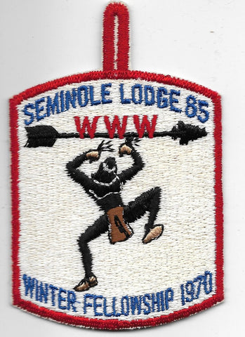 OA Lodge # 85 Seminole Gulf Ridge  1970 Winter Fellowship [OAP756]