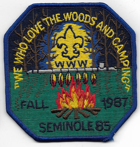 OA Lodge # 85 Seminole Gulf Ridge  1987 Fall [OAP774]