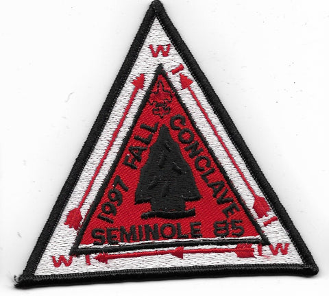 OA Lodge # 85 Seminole Gulf Ridge  1997 Fall Concalve [OAP796]