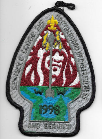 OA Lodge # 85 Seminole Gulf Ridge  1998 Spring [OAP799]