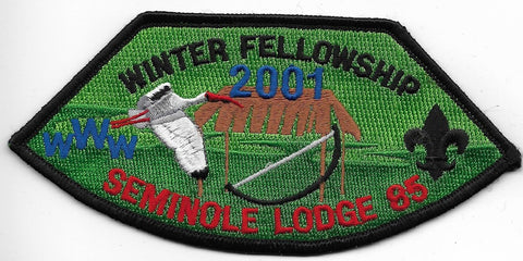 OA Lodge # 85 Seminole Gulf Ridge  2001 Winter Fellowship [OAP803]