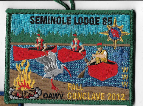 OA Lodge # 85 Seminole Gulf Ridge  2012 Fall Conclave [OAP828]