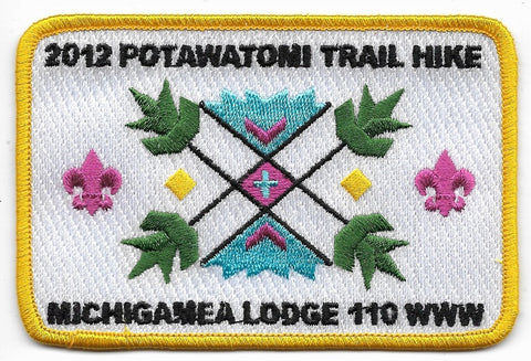 OA Lodge # 110 Michigamea Calumet  2012 Potawatomi Trail Hike [OAP848]
