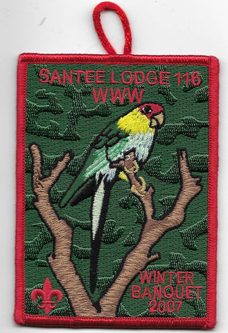 OA Lodge # 116 Santee Pee Dee Area  2007 Winter Banquet [OAP868]