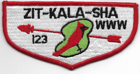 OA Lodge # 123 Zit-Kala-Sha Old Kentucky Home  S-10 flap [OAP900]