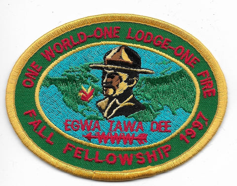 OA Lodge # 129 Egwa Tawa Dee Atlanta Area  1997Fall Fellowship [OAP929]