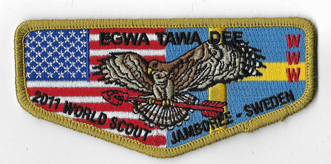 OA Lodge # 129 Egwa Tawa Dee Atlanta Area  2011 World Jamboree [OAP983]