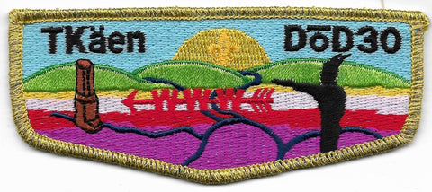 OA Lodge # 30 TKäen Dõd Five Rivers  S-1a; first flap [OAP325]