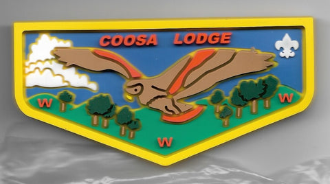 OA Lodge # 50 Coosa Greater Alabama  F-3; 2012 SR-9 Conclave;  yellow [OAP391]