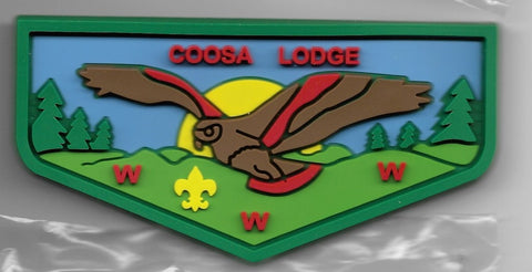 OA Lodge # 50 Coosa Greater Alabama  F-2; 2012 SR-9; Conclave; green [OAP392]