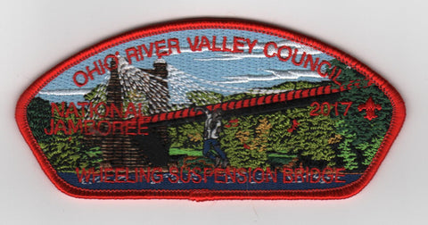 2017 National Scout Jamboree Ohio River Valley  Red Bdr. JSP [FB225]