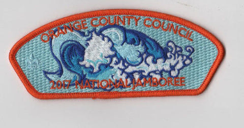 2017 National Scout Jamboree Orange County  ORG bdr. JSP [FB234]