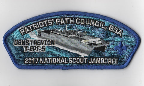 2017 National Scout Jamboree Patriots' Path  Blue Bdr JSP [FB216]