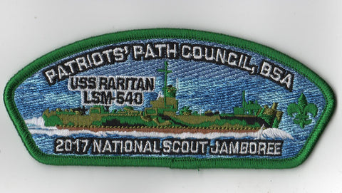 2017 National Scout Jamboree Patriots' Path  Green Bdr JSP [FB217]