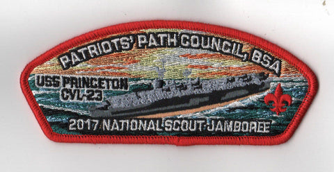 2017 National Scout Jamboree Patriots' Path  Red Bdr. JSP [FB218]