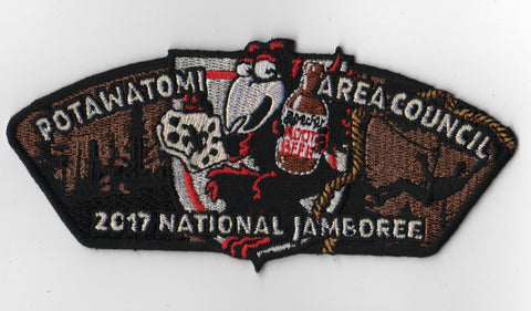 2017 National Scout Jamboree Potawatomi Area  Root Beer JSP [FB222]