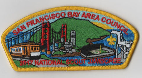 2017 National Scout Jamboree San Francisco Bay Area  Yel JSP [FB214]