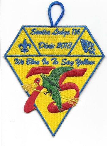 #116 Santee Lodge X17 Dixie Trader 2013 Issue - Scout Patch HQ