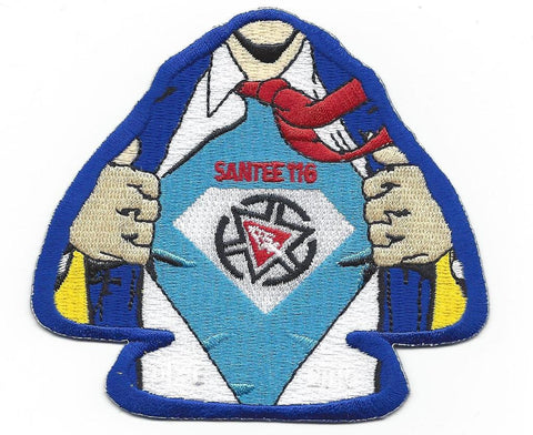 #116 Santee Lodge X19 Super Santee Trader 2015 Issue - Scout Patch HQ