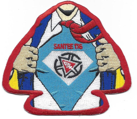 #116 Santee Lodge X20 Super Santee Delegate 2015 Issue - Scout Patch HQ