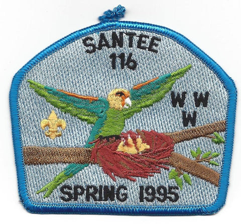 #116 Santee Lodge 1995 Spring Fellowship pp [CC262]