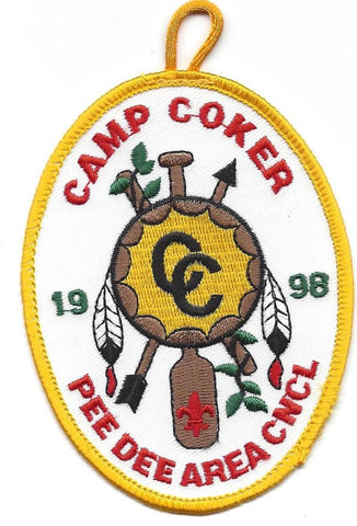 #116 Santee Lodge 1998 OA Week (yellow border Camp Coker) [CC277]